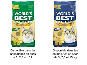 world 39 s best cat litter la meilleure liti re pour chat. Black Bedroom Furniture Sets. Home Design Ideas